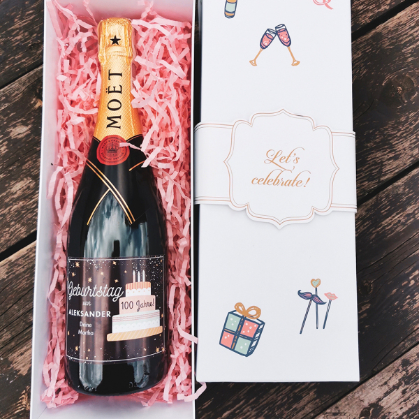 HAPPY BIRTHDAY MOËT & CHANDON BRUT IMPERIAL