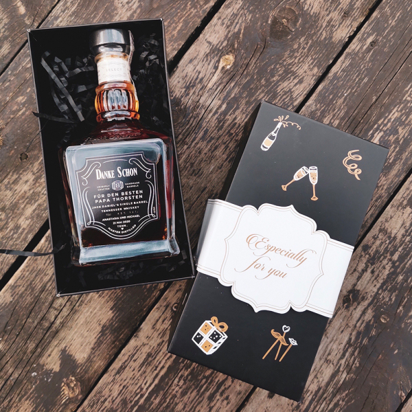 HOCHZEIT JACK DANIEL'S SINGLE BARREL